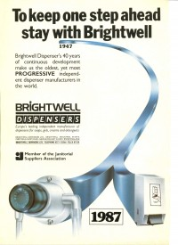 Brightwell Dispensers advert