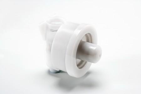 Soap dispenser foam pump