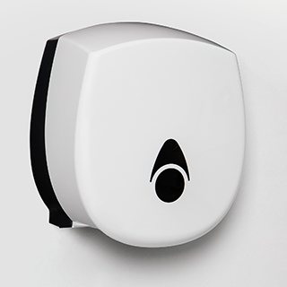 Myriad toilet roll dispenser