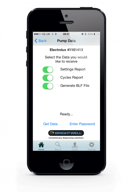 BrightLogic iPhone app - data collection